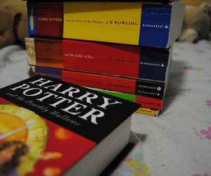 book, photography, and harry potter image
