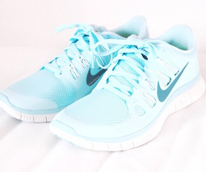 nike, shoes, and blue image