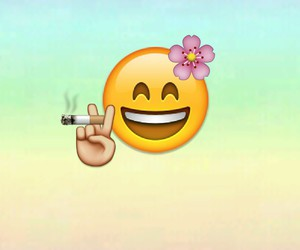 smoke and emoji image
