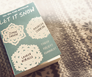 book, john green, and let it snow image