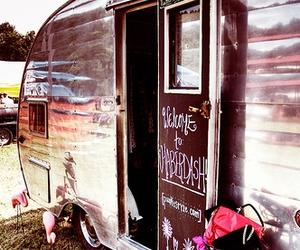 Caravan, vintage, and travel image