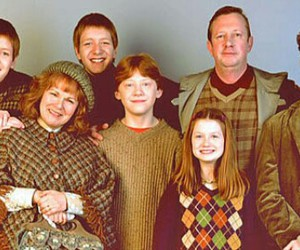 family, harry potter, and weasley image
