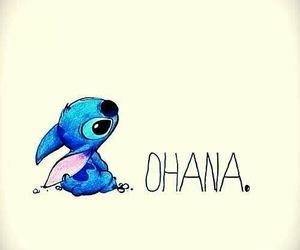 ohana, stitch, and family image