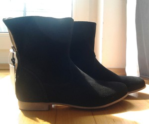 ankle boots, shoe, and shoes image