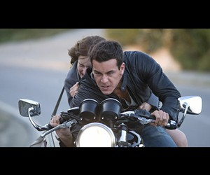amour, couple, and moto image