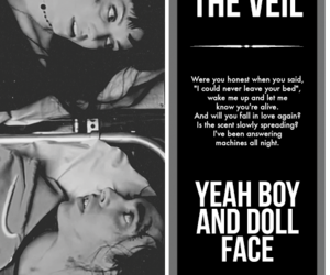 pierce the veil, vic fuentes, and yeah boy and doll face image