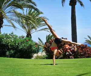 fitness, flexibility, and follow image