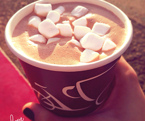 hot chocolate and tasty image