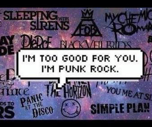 band, nirvana, and fall out boy image