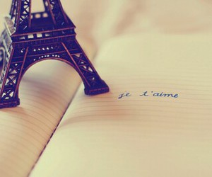 paris, je t'aime, and eiffel tower image