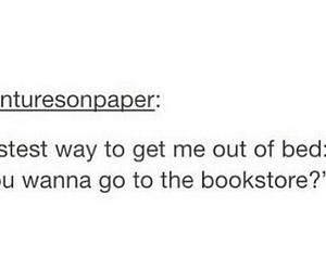 books, bookstore, and read image