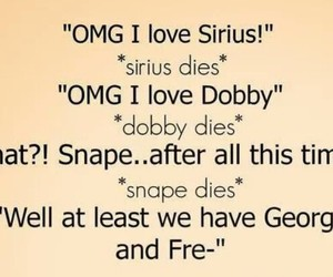 harry potter, dobby, and snape image