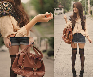 bag, outiff, and lookbook image