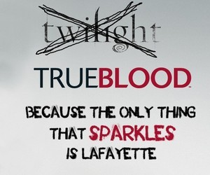 true blood, lafayette, and twilight image