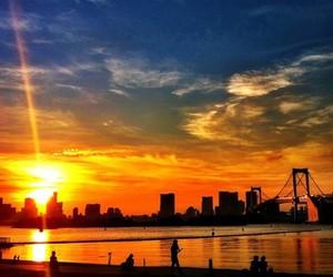 sunset, world, and life image