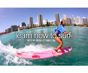 surf, bucket list, and summer image