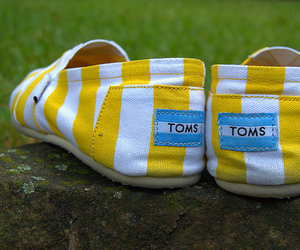 Tom, shoes, and yellow image