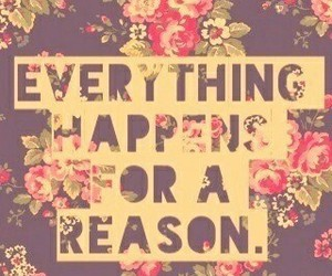 reason, quotes, and flowers image