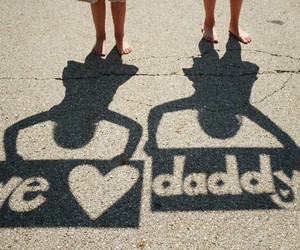 love, daddy, and dad image