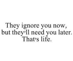 life, quotes, and ignore image