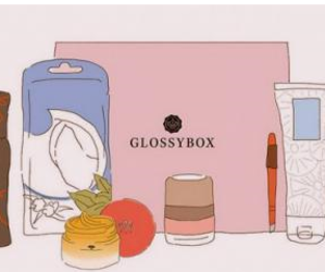 pink, glossybox, and vintage image