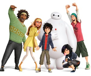 big hero 6, big hero 6 baymax, and big hero 6 cover image