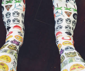 socks and emoji image