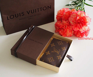 fashion, Louis Vuitton, and flowers image
