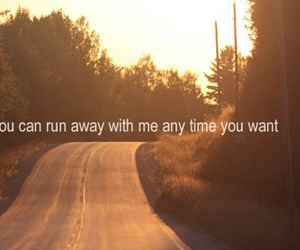 quote, run, and my chemical romance image