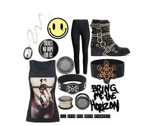 bring me the horizon and outfit image
