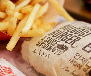 burger, mc donald's, and sk image