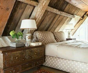 bedroom, home, and wood image