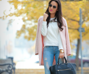 bag, blogger, and model image