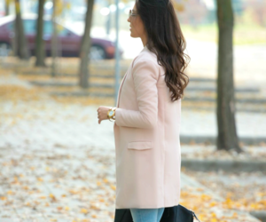 autumn, brunette, and hair image
