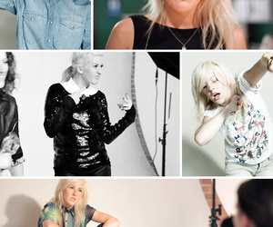 Ellie Goulding, fashion, and photo image