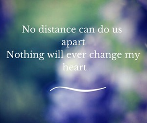 always, distance, and forever image