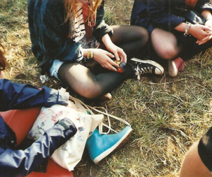 fashion, hipster, and shoes image