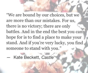castle, quote, and caskett image