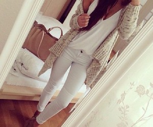 bag, cute, and jeans image