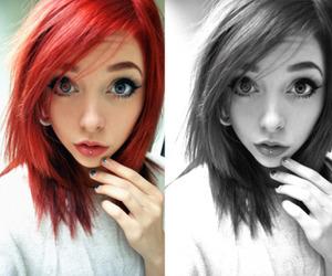 girl, johanna herrstedt, and red hair image