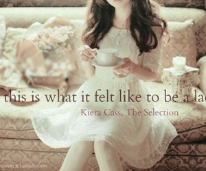 the selection, book, and kiera cass image
