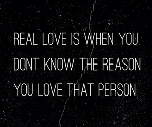 love and real love image