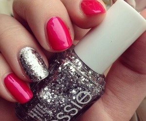 nail art, nails, and essie image
