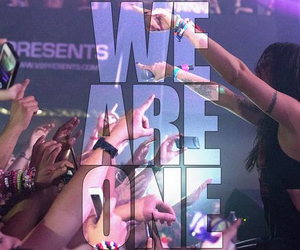 dj, we are one, and edm image