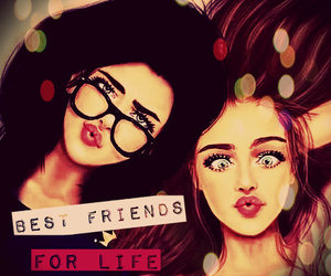 friends, bff, and girls image