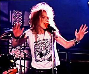 Guns N Roses, axl rose, and rock image
