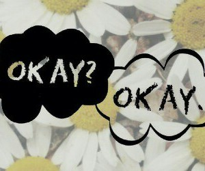 background, flowers, and okay image
