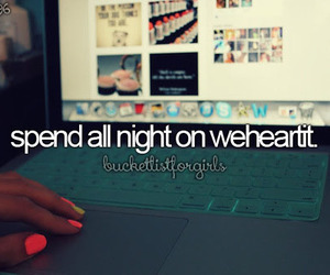 we heart it and night image