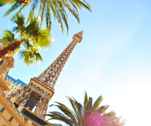 paris, eiffel tower, and summer image