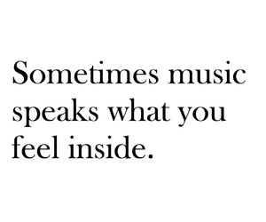 music, quote, and inside image